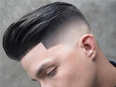 时尚男士莫西干短发 三面剃寸头帅气设计