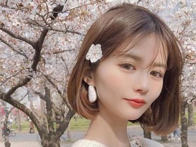 韩国最潮女生短发 流行女生内扣短发设计