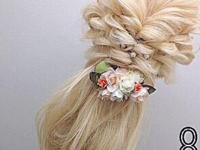 流行发型扎法图解分享 女生扎发发型轻松学超简单