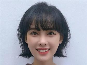 韩国网红发型 微卷蓬松超亮眼