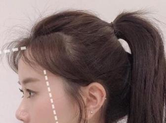 发型师公开整形级小脸碎发剪!修饰不同脸型的碎发比例,剪完脸直接小一圈