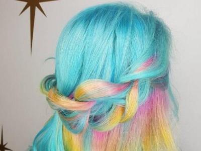 染潮发色的头发适合扎什么发型 时髦值爆表赚足回头率