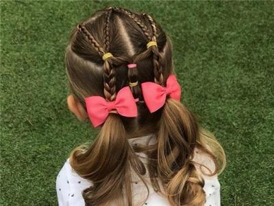 20款小女孩发型扎法 最全儿童编发大全