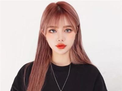 韩国染发流行色 显白发色甜美示范