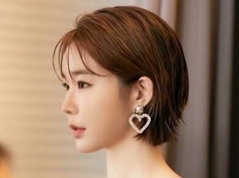 清爽软萌的春天短发造型 连刘寅娜都剪短发了还不快跟上