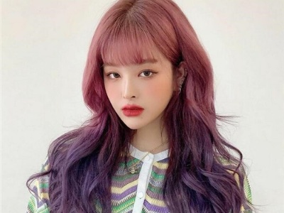 最新人气韩式发型 网红染发才是主流