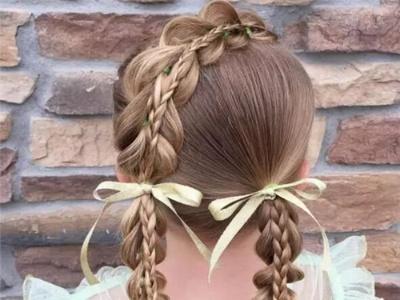 12款漂亮小女孩编发 打造百变公主萝莉