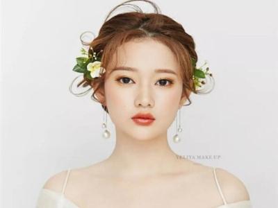 优雅森系新娘发型 美得让人眼前一亮