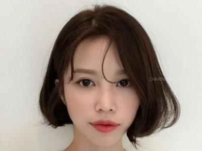 韩式内扣短发怎么剪 齐嘴+内扣时尚显脸小美翻了