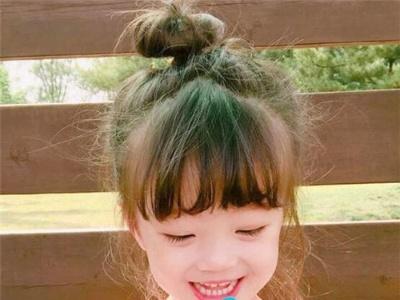 可爱清新的儿童发型 软萌小萝莉扎发推荐