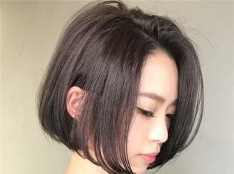 气质齐脸短发设计 大脸圆脸瘦脸专属