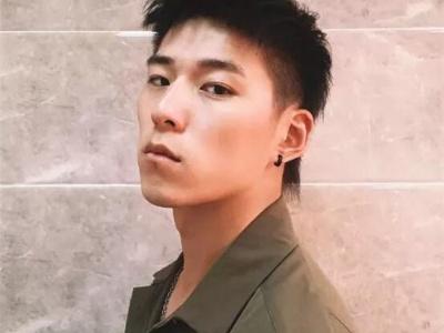 清爽潮男发型设计 两边铲雕刻酷炫个性