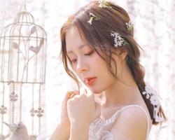 浪漫韩式新娘发型 美得让人心动不已