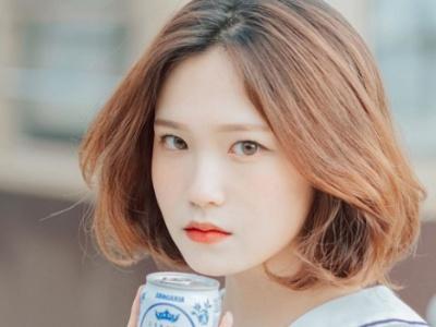 韩式内扣短发发型推荐 清新减龄时尚指数爆表