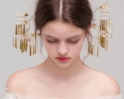 简约清新感新娘发型 打造浪漫梦幻新娘