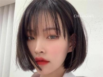 2020年韩国短发范本 清新减龄小脸短发