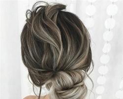 晚装新娘盘发图片 轻奢高贵新娘发型