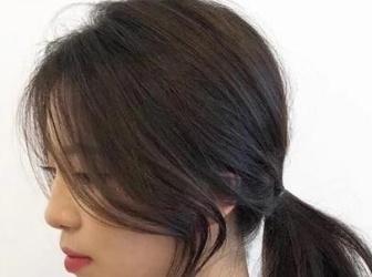 头发稀少怎样扎才好看 适合头发少扎发图片