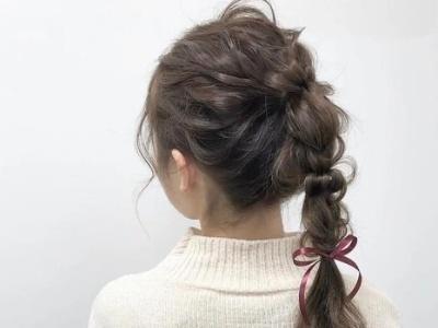 少女可爱甜美发型扎法 女生头发这么扎美翻了