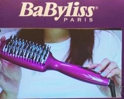 巴比丽丝/BABYLISS直发梳负离子家用恒温电直夹板直发器怎么样使用方法