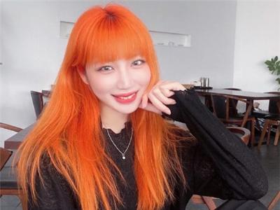 """今年最流行的染发 """"橘色系""""回头率超高"""