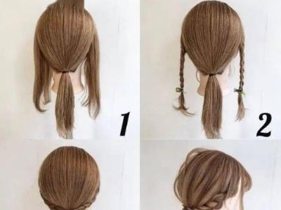 适合中长头发的扎发发型 头发这么扎的小姐姐超美的