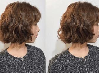 短发蛋卷头发型图片 可爱又减龄短卷发造型推荐