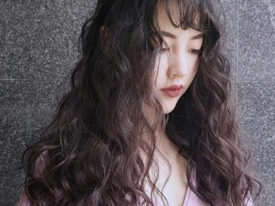 长发烫什么样的卷好看 长发+羊毛卷原来可以这么美