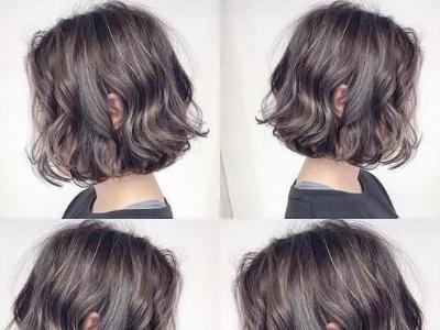 蓬松短发怎么烫 S卷短发时尚减龄还显气质
