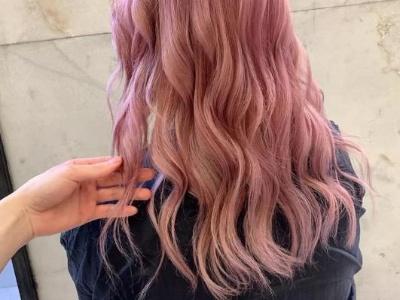 水波纹染什么颜色好看?这几款仙女发色分分钟美翻天