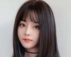 """今年流行""""挂耳Lisa染""""韩国爆款染发发型"""