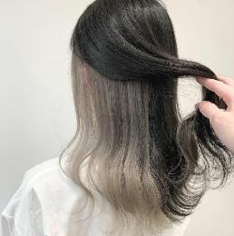 个性隐藏染发型 美丽自然又百变