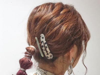 戴发夹怎么扎头发 时尚达人发夹扎发造型学起来