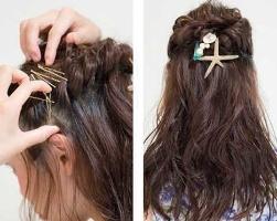 头发扎一半怎么扎好看 扎一半头发的发型步骤