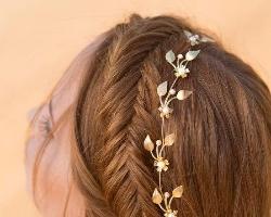 适合穿婚纱的发型 新娘子唯美发型推荐