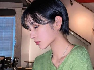 最火女生超A短发 头发剪短帅气干练