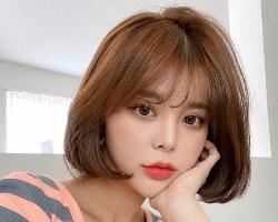 女生C卷短发正流行 可爱减龄巨瘦脸发型推荐