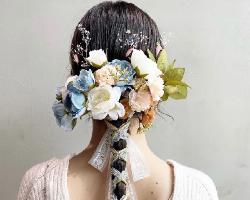 鲜花干花扎发设计 日常or婚礼最适用