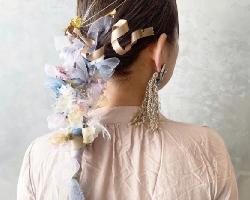 花仙子扎发发型 最新女生扎发样式