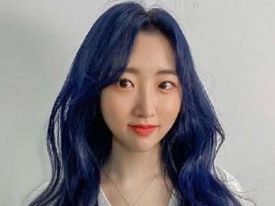 今年最出圈的发色 蓝色染发百变吸睛