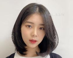 女生最新圆脸短发造型 整容级小脸剪发更瘦脸
