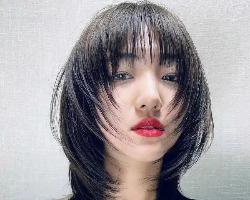 最佳瘦脸短发发型 减龄锁骨发美极了