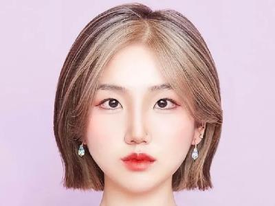 """韩式时尚染发设计 """"光束染""""亮眼迷人"""
