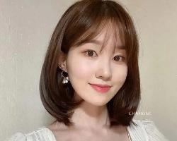 韩式内扣锁骨发 20+女生减龄发型