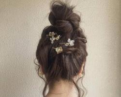 可爱减龄丸子头扎发 元气少女必备发型