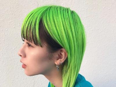 染什么绿色头发好看 绿色系染发款款美到你