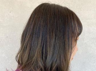 个性发尾染造型示范 这么染发才够潮有范