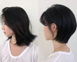女生剪发效果示范 短中长多种款式随心选