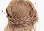 适合长发及腰的扎发 双边环形辫编发教程