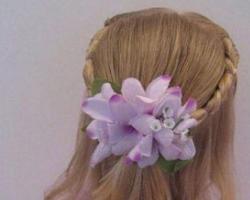 女孩长头发怎么扎好看 半扎发公主头尽显优雅高贵
